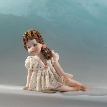 """Фарфоровая кукла """"Odette"""""""