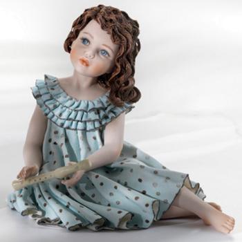 """Фарфоровая кукла """"Pamina"""""""
