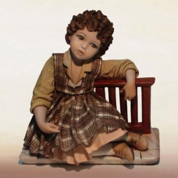 "Фарфоровая кукла ""Teresa"""