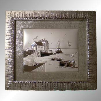 "Картина ""Морской пейзаж"" 39х44"