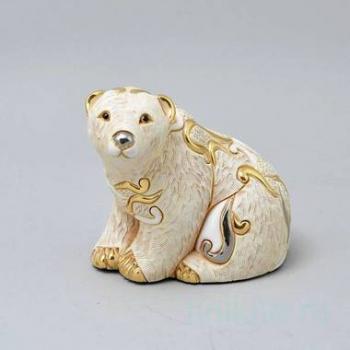 Керамическая статуэтка Белый медведь