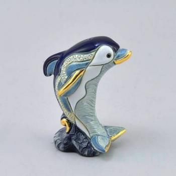 Керамическая статуэтка Дельфиненок