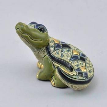 Керамическая статуэтка Детеныш нильского крокодила