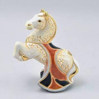 Керамическая статуэтка Лошадь белая