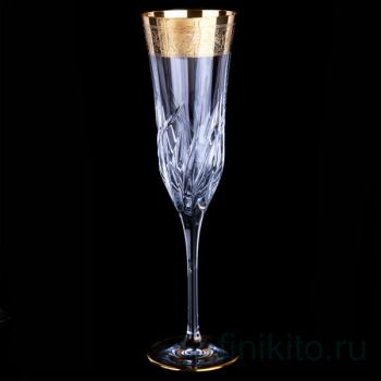 """Набор бокалов для шампанского """"Пламя"""""""