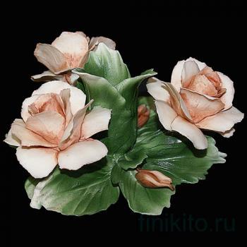 """Подсвечник """"Три розы"""""""
