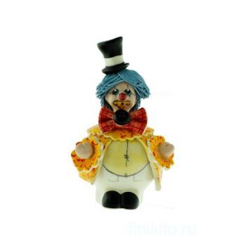 "Скульптура ""Клоун в цилиндре"""