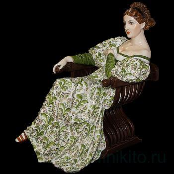 """Статуэтка """"Дама, сидящая в кресле"""""""