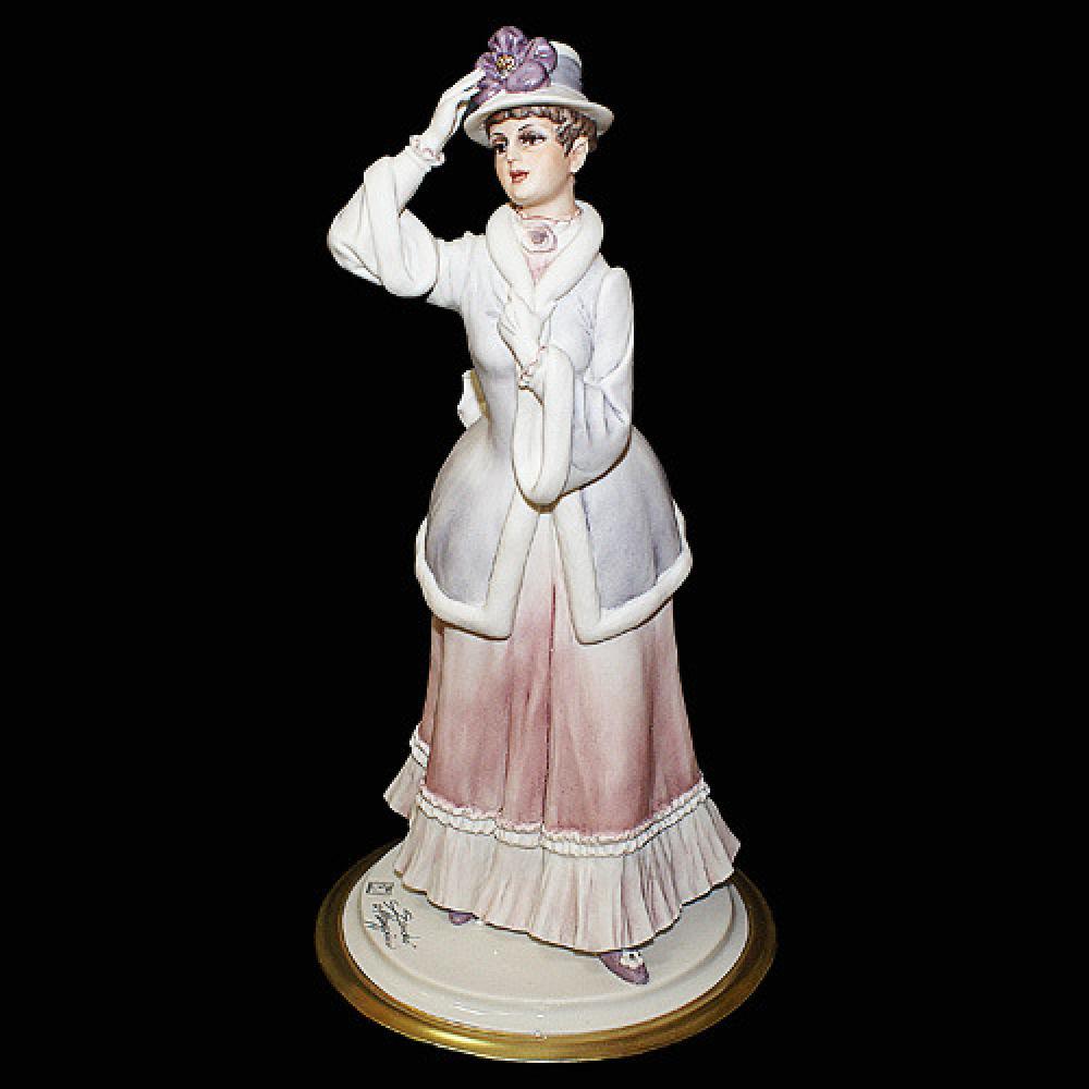 """Статуэтка """"Дама в шляпке"""""""