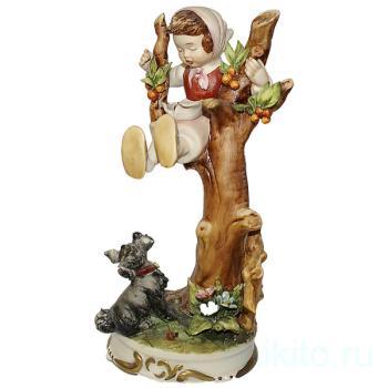 """Статуэтка """"Девочка на дереве"""""""