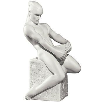 "Статуэтка из фарфора ""Водолей мужчина"""