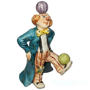 "Статуэтка ""Клоун - жонглёр"""
