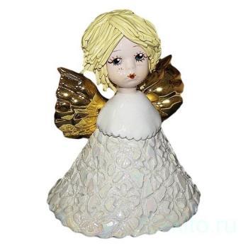 """Статуэтка-колокольчик """"Ангел со светлыми волосами"""""""