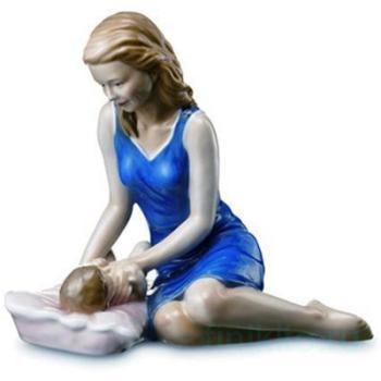 """Статуэтка """"Мама с малышом"""""""