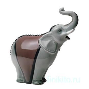 "Статуэтка NAO ""Слон (серый)"""
