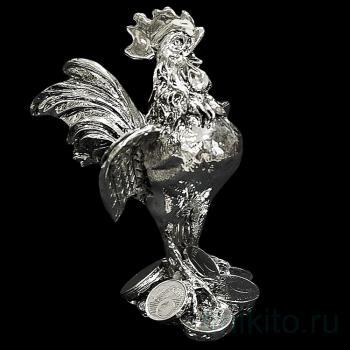 "Статуэтка "" Петух с монетами"""