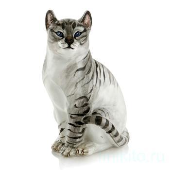 """Статуэтка """"Полосатая кошка"""""""