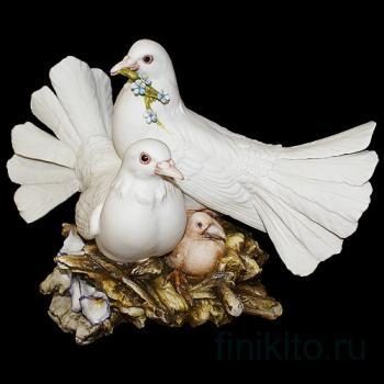 """Статуэтка """"Семья голубей"""""""
