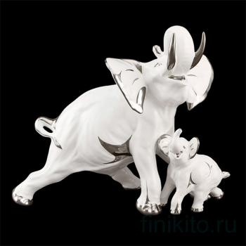 "Статуэтка ""Слониха со слоненком"""
