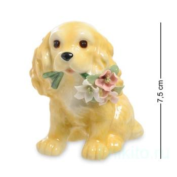 "Статуэтка ""Собака с букетом"" 107948 Pavone"