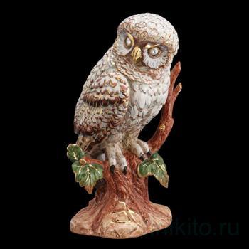 "Статуэтка ""Сова сидящая на дереве"""