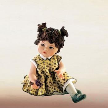 """Фарфоровая кукла """"Vanessa"""""""