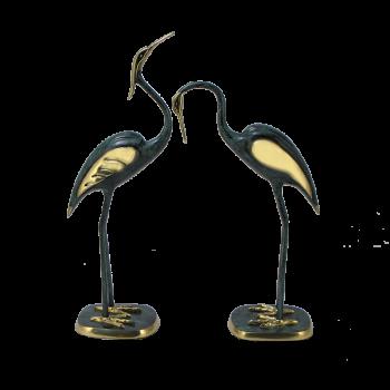 Бронзовая статуэтка Журавли