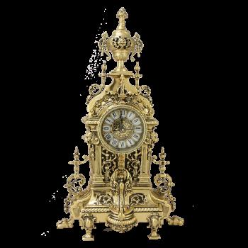 "Часы  ""AHS"" каминные бронзовые"