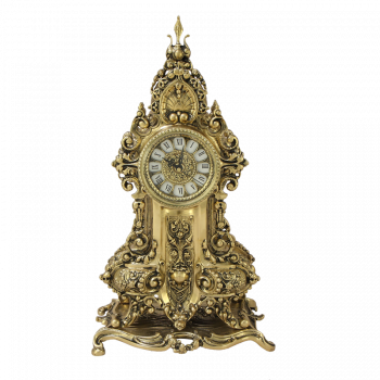 Часы Арте  каминные бронзовые