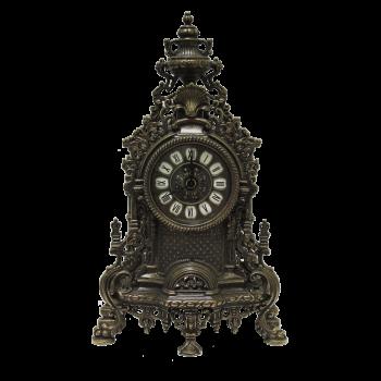 Часы Барокко каминные под бронзу