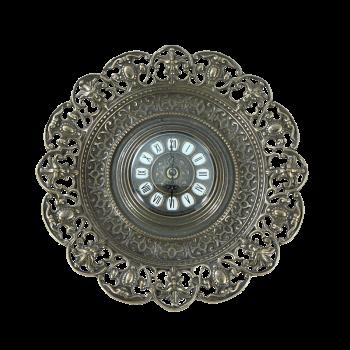 Часы-блюдо в рамке Барокко, антик