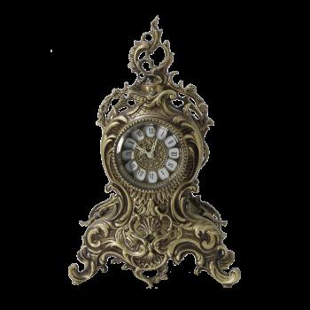 Часы бронзовые каминные Ласу