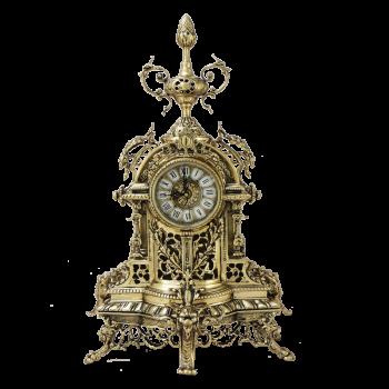 """Часы каминные """"Пинья"""" бронзовые"""