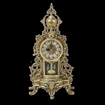 "Часы ""Капелла"" каминные бронзовые"