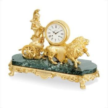 """Часы """"Колесница со львами"""""""