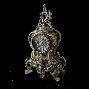 Часы Ласу каминные, антик