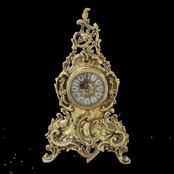 """Часы """"Луи XIV"""" каминные бронзовые"""