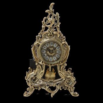 """Часы """"Луиш XV""""с маятником каминные"""