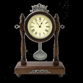 Часы ретро с маятником настольные