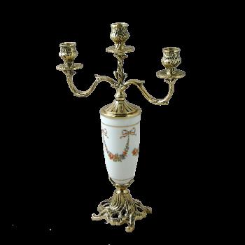 Канделябр Триумфато 3-х рожковый, золото