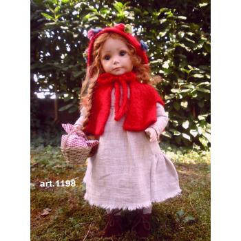 """Кукла """"Cappuccetto Rosso"""""""