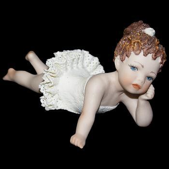 """Кукла """"Маленькая балерина лежит"""""""