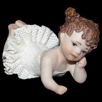 """Кукла """"Маленькая танцовщица лежит"""""""