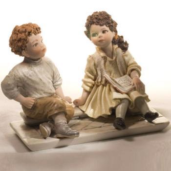 """Куклы """"Мальчик и девочка на отдыхе"""""""