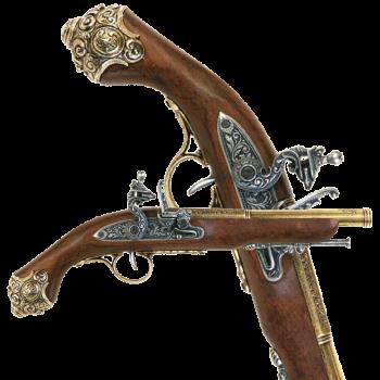 Пистоль ударный 18 века