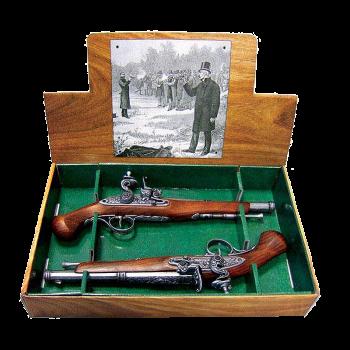 Пистоли дуэльные 18 века