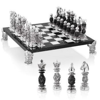 Шахматный набор с чернением