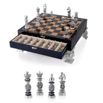Шахматный набор с ячейками