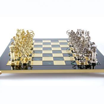 Шахматы с фигурами из бронзы Античные войны