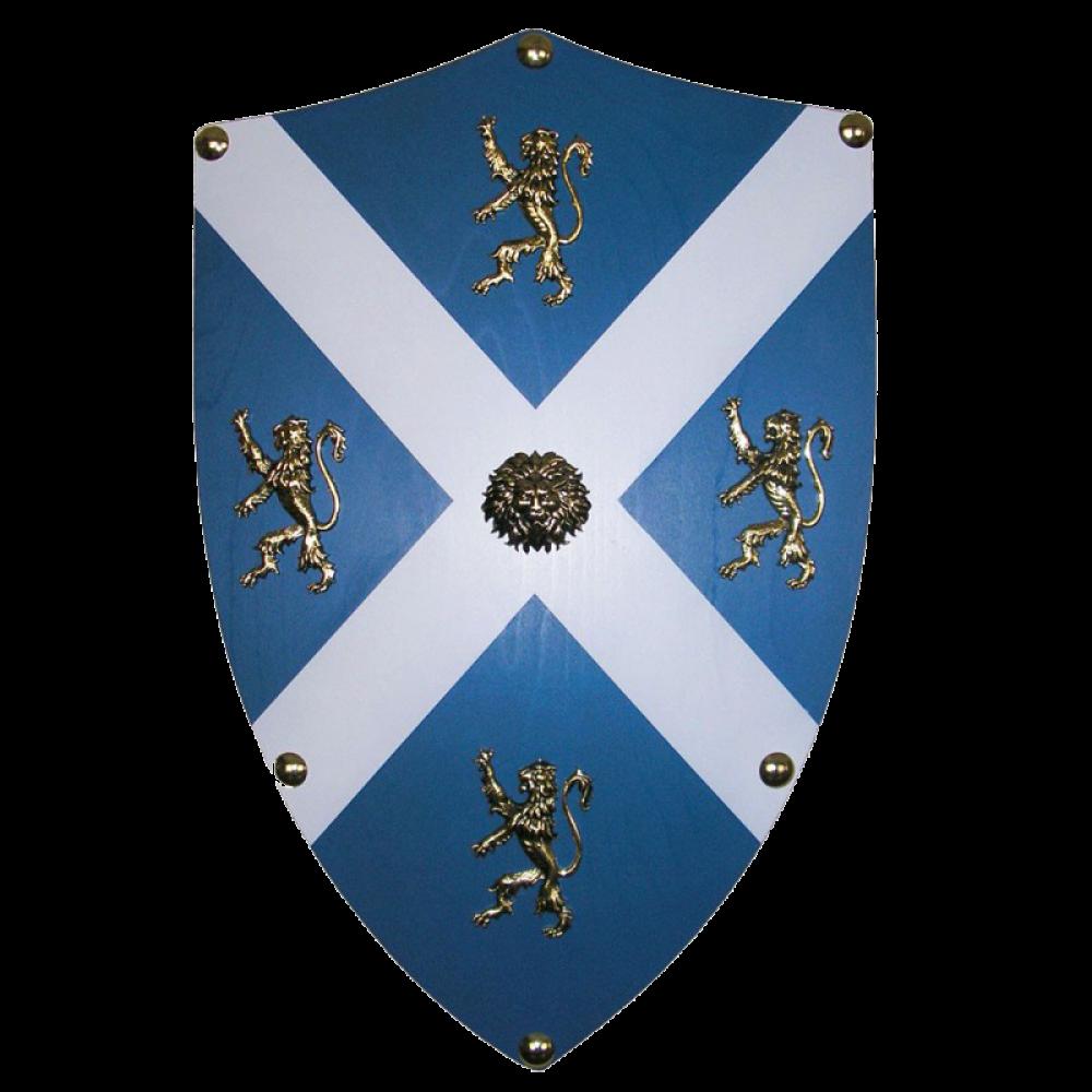 Щит геральдический большой Уильяма Уоллеса, Шотландия